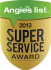 Follow Us on Angie's List Service Award